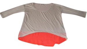 Lucca Couture High Low T Shirt Tan