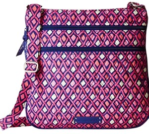 Vera Bradley Tripleziphipster Cotton Printed Cross Body Bag