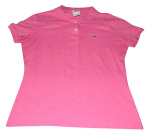 Lacoste Polo Shirt Classic T Shirt Pink