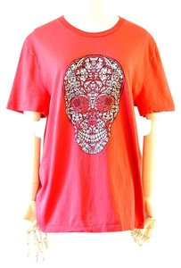 Alexander McQueen T Shirt red