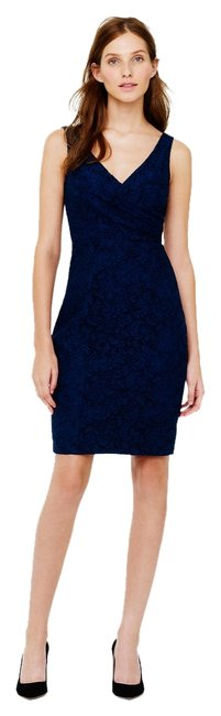 Preload https://item3.tradesy.com/images/jcrew-navy-blue-sara-leavers-lace-short-formal-dress-size-8-m-1932502-0-0.jpg?width=400&height=650