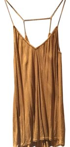 RVCA short dress Gold on Tradesy