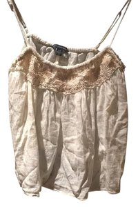 American Eagle Outfitters Top Beige