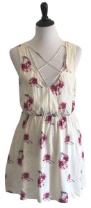Forever 21 short dress White floral on Tradesy