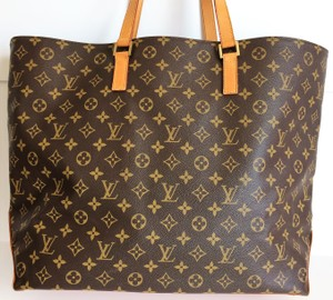 Louis Vuitton Cabas Alto Cabas Neverfull Saumur Speedy Tote in Brown