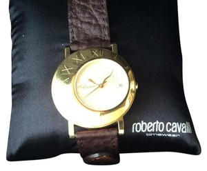Roberto Cavalli Gold/Brown Watch