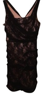 Express Lace Fitted Date Dress