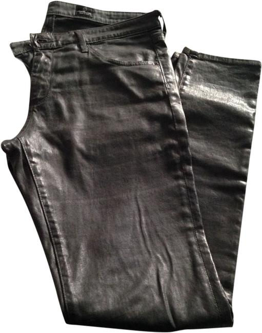 Item - Gray Coated The Legging Supper Fit Skinny Jeans Size 31 (6, M)