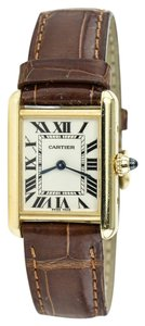 Cartier TANK LOUIS CARTIER 2442 18K Yellow Gold Watch