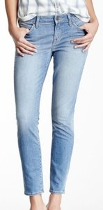 Rich & Skinny Cropped Skinny Jeans-Light Wash
