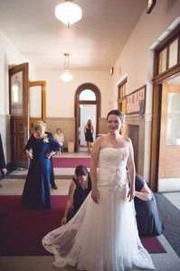 Melissa Sweet Leighton Wedding Dress