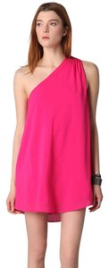 Riller & Fount short dress Pink Coral Flowy Summer Full Drape on Tradesy