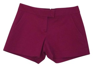 Theory Stretch Mini/Short Shorts Fuchsia