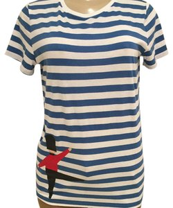 Burberry T Shirt WHITE / BLUE-AZURE