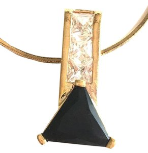 Lauren G Adams Lauren G Adams Black and White Crystal Pendant Necklace