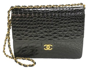 Chanel Alligator Flap Shoulder Bag