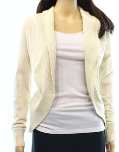 JJ Basics Cotton Cardigan Long Sleeve New With Tags 3310-1689 Sweater