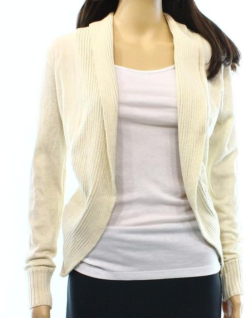 Preload https://img-static.tradesy.com/item/19330306/oatmeal-juniors-round-hem-rib-trim-cardigan-0-0-650-650.jpg