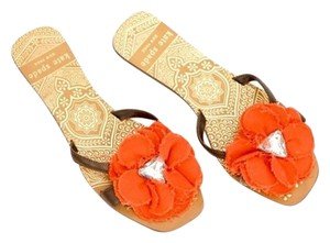 Kate Spade Floral Flower Crystal Sandals