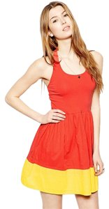 French Connection short dress Pink Halter on Tradesy