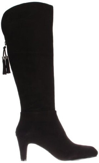 Bandolino Winter Knee High Leather Black Boots