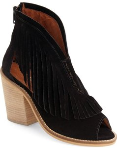 Other Musse Cloud Galia Fringed Bootie 41 Black Sandals