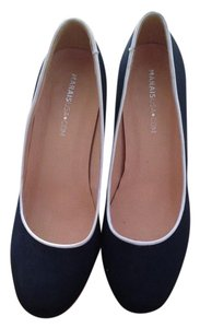 Marais USA Black with white trim Pumps