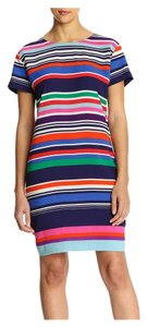 Joe Fresh short dress Multi Color, Blue Short Sleeve on Tradesy