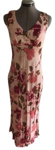 Pink with multi print Maxi Dress by Cinnamon Girl Romantic Floral Boutique