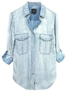 Rails Button Down Shirt Cloud Wash