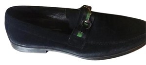 Joseph Abboud Mens Loafer Suede black Flats