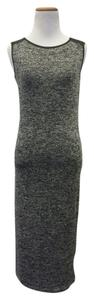grey and black Maxi Dress by RD Style