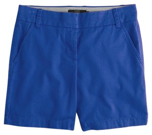 J.Crew Chino Zip Fly Free Shipping Dress Shorts Blue