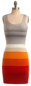 WOW short dress Grey, Red, Orange, Beige, White New Bodycon Bandage Party on Tradesy