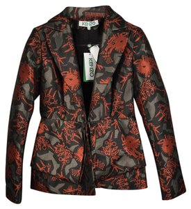 Kenzo Blazer Abstract Multi-color Jacket