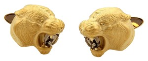 Carrera y Carrera Carrera y Carrera Smokey Quartz 18k Gold Panther Head