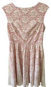 Maggy London short dress Pink Lace on Tradesy