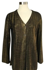 Carole Little Vintage Top GOLD