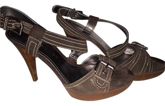 Marc Fisher Chocolate Sandals