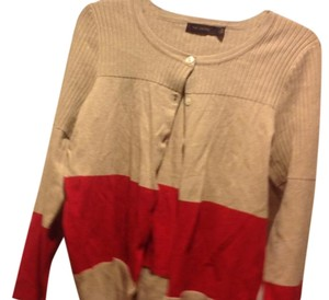 The Limited Two Tone Sweater Cardigan