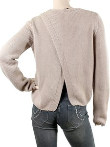 Calvin Klein Heavy Knit Knit Open Slit Sweater