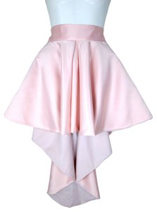 Lisa Nieves Prom Formal Pink Mini Mini Skirt Soft pink