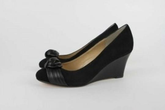 Milk & Honey Black Wedges