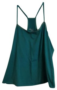 Lane Bryant Plus-size Summer Racer-back Top Teal
