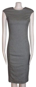 Zara Midi Houndstooth Dress