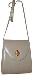 Jennifer Moore Leather Tote in Taupe