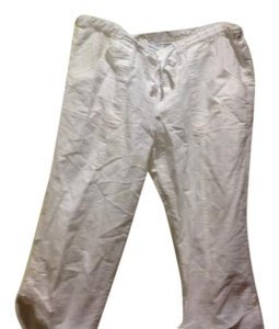 New York & Company & Co. Like Cargo Style Capris White