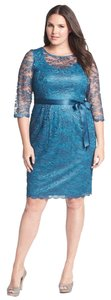 Alex Evenings New With Tags Party Lace Dress