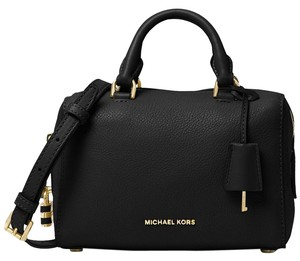 Michael Kors Crossbody Mini Satchel in Black
