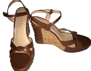 Anne Klein Chocolate Platforms